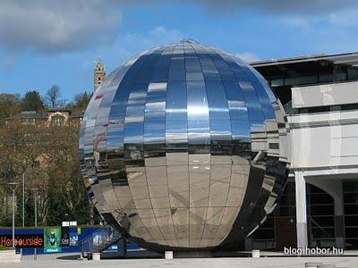 BRISTOL, UK - Modern Bristol: Millenium Square, @-Bristol Planetarium