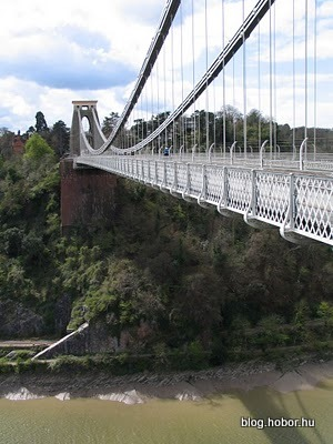 BRISTOL, UK - The Clifton Suspension Bridge
