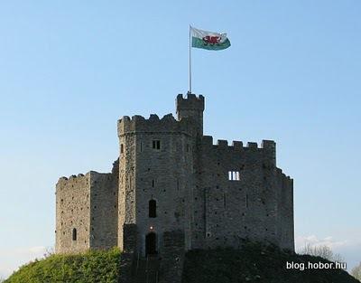 CARDIFF (Caerdydd), Wales, UK - The Cardiff Castle
