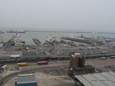 DOVER, Kent, UK - Dover Ferry Port