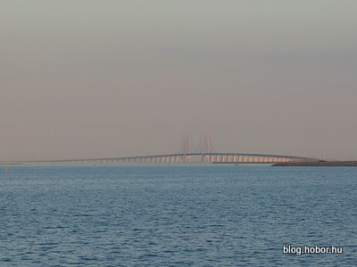 KASTRUP (Oresund Bridge), Denmark (Sweden) - Øresund Bridge linking Sweden and Denmark.