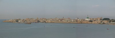 AKKO (ACRE), Israel - Akko (Acre) panorama view