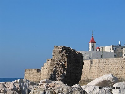 AKKO (ACRE), Israel - A Catholic church in an Arabic city in the Jewish Israel