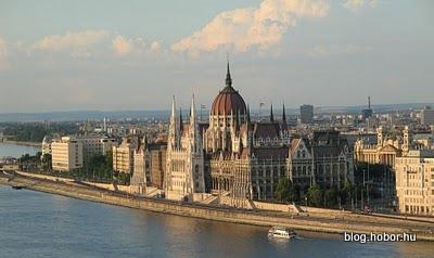 BUDAPEST, Hungary - Parliament of Hungary