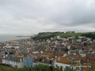 HASTINGS, East Sussex, UK - View from the East Hill