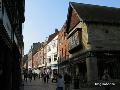 WINCHESTER, Hampshire, UK - High Street