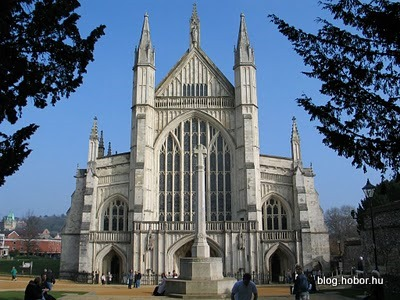 WINCHESTER, Hampshire, UK - Winchester Cathedral