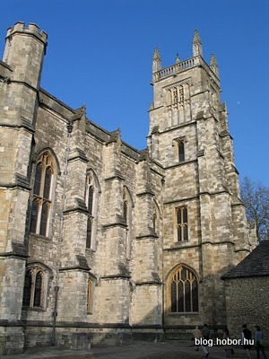WINCHESTER, Hampshire, UK - Winchester College