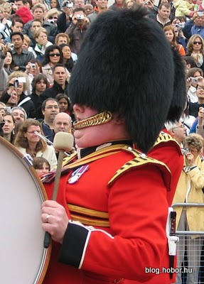Buckingham Palace, LONDON, UK - He is my favorite guard!