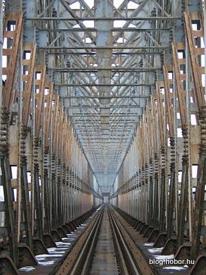 North Rail Bridge, BUDAPEST, Hungary