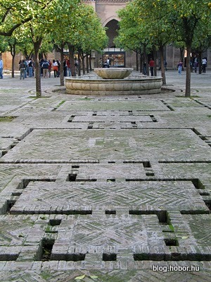 Cathedral, SEVILLE, Spain - Court of Orange-Trees of the Cathedral.