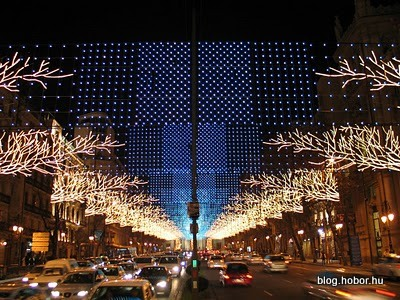 Christmas lights of MADRID, Spain