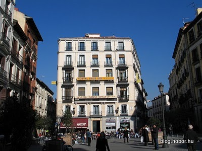 Windows and balconies of MADRID, Spain