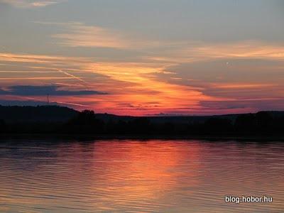 Sunset at KÁNYAVÁR ISLAND, (Kis-Balaton), Hungary