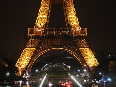 Eiffel Tower by night, PARIS, France