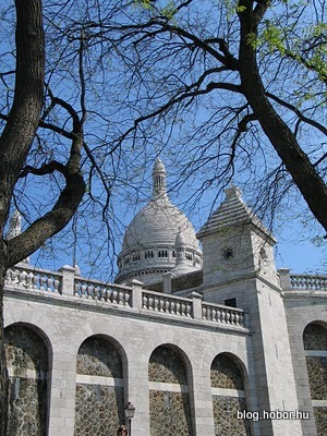 Sacré-Cœur Basilica,PARIS, France